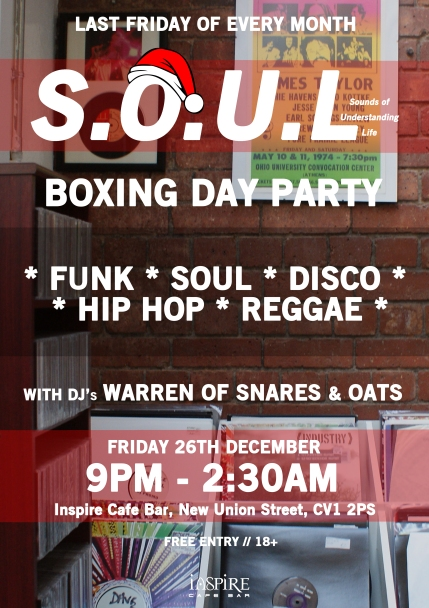 S.O.U.L #006 - BOXING DAY PARTY